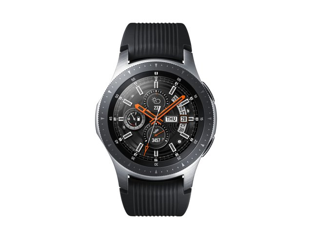 SM-R800NZSADBT Galaxy Watch 46 mm (Bluetooth), Silber