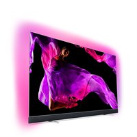 65OLED903/12 164cm (65 Zoll) OLED TV (Ambilight, 4K Ultra HD, Triple Tuner, Android Smart TV) Silber
