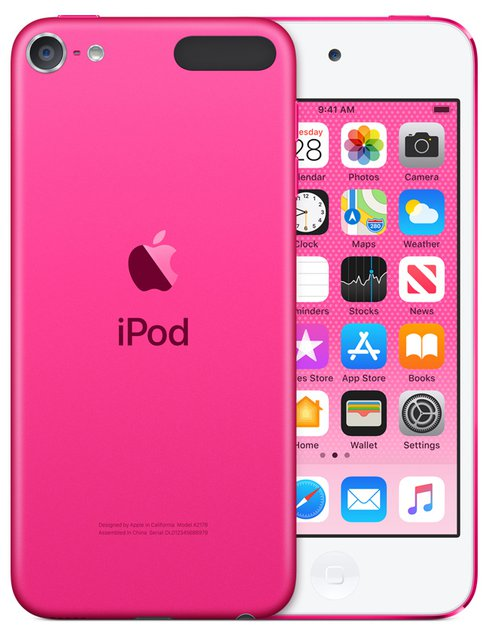 "iPod Touch MP3-Player 32GB 10,16cm/4"" Bluetooth Pink (Pink)"