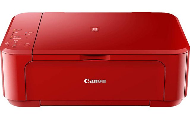 Pixma MG3650S All in One A4 Tintenstrahl Drucker 4800 x 1200 DPI (Rot)
