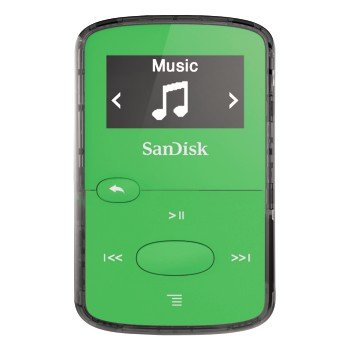 Clip Jam 8GB MP3 player - Grün