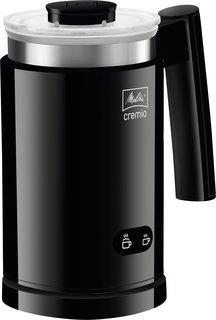 1014-02 Cremio II Milchaufschäumer, Schwarz, 450 Watt, 0,25 Liter