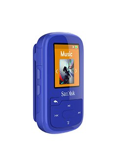 Clip Sport Plus Wearable MP3 Player - Blau