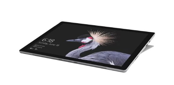 'Microsoft Surface Pro LTE 2.6GHz i5–7300U 12.32736X 1824pixel Touch Screen 3G 4G Silber Hybrid (2in 1)