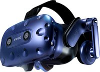 VIVE Pro Headset Virtual Reality System, Schwarz/Blau