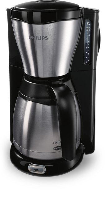 Philips Café Gaia Collection Mit Thermo-Kanne, Metall, Kaffeemaschine