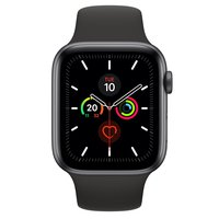 Watch Series 5 44mm GPS + Cellular Aluminiumgehäuse Spacegrau Sportarmband Black