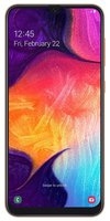 Galaxy A50 128GB 6.4 Zoll (16.3 cm) Dual-SIM Android™ 9.0 25 Mio. Pixel Koralle