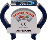Batterietester Check-It Messbereich (Batterietester) 1,2 V, 1,5 V, 3 V, 9V Akku, Batterie 40