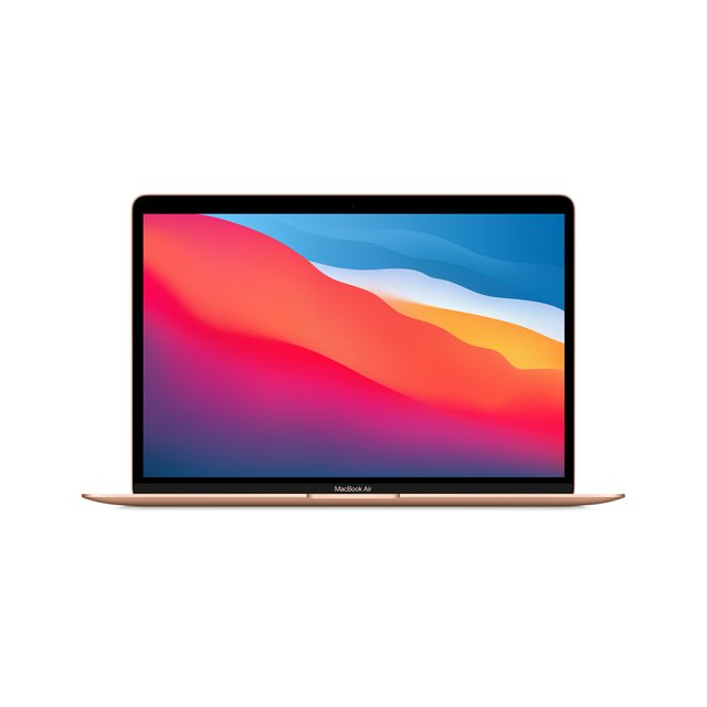 "Neues Apple MacBook Air mit Apple M1 Chip (13"", 8 GB RAM, 512 GB SSD) - Gold (Neustes Modell)"