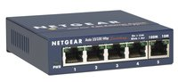 FS105 5 Port Fast Ethernet LAN Switch Unmanaged (10/100 MBit/s, für Desktop mit ProSAFE Lifetime-Garantie)