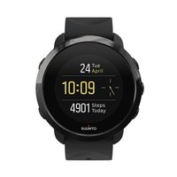 3 Fitness activity tracker with strap - black/black