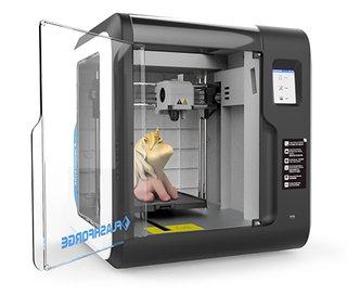 Adventurer 3-3D-Drucker - FFF - max. Baugröße 150 x 150 x 150 mm - Schicht: 0.1 mm - LAN, USB-Host, Wi-Fi