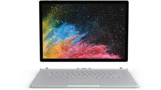 Surface Book 2 Windows®-Tablet / 2-in-1 33cm (13 Zoll) 512GB Wi-Fi Silber Intel Core i7 1