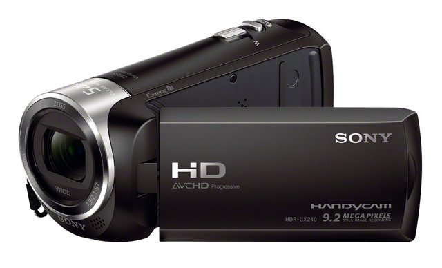 »HDR-CX240E« Camcorder (Full HD, 27x opt. Zoom)