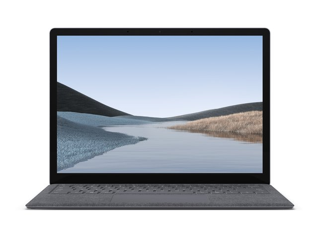 Surface Laptop 3, 13,5 Zoll Laptop (Intel Core i5, 8GB RAM, 128GB SSD, Win 10 Home) Platin
