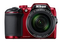 Coolpix B-500 Digitalkamera 16 Mio. Pixel Opt. Zoom: 40 x Rot Full HD Video, Klappbares Displa