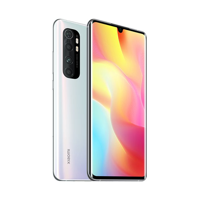 Mi Note 10 Lite Smartphone + Kopfhörer (16,43 cm (6,47″) FHD+ Display, 64GB interner Speicher, 6GB RAM, 64MP Rückkamera, 16MP Frontkamera,