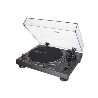 AT-LP120X direktangetriebener Plattenspieler (Analog und USB) schwarz