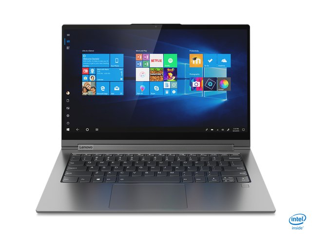 Yoga C940 Laptop 35,6 cm (14 Zoll, 1920x1080, Full HD, WideView, Touch) Slim Convertible Notebook (Intel Core i7-1065G7, 16GB RAM, 512GB SSD,