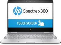 Spectre x360 (13-ac004ng) 33,8 cm (13,3 Zoll / 4K Touchscreen) Convertible Ultrabook (2in1 Laptop mit Intel Core i7-7500U, 16 GB RAM, 512 GB SSD,