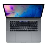 MacBook Pro (2018) Touch Bar Notebook (39,11 cm/15,4 Zoll, Intel Core i7, Radeon Pro, 256 GB SSD)