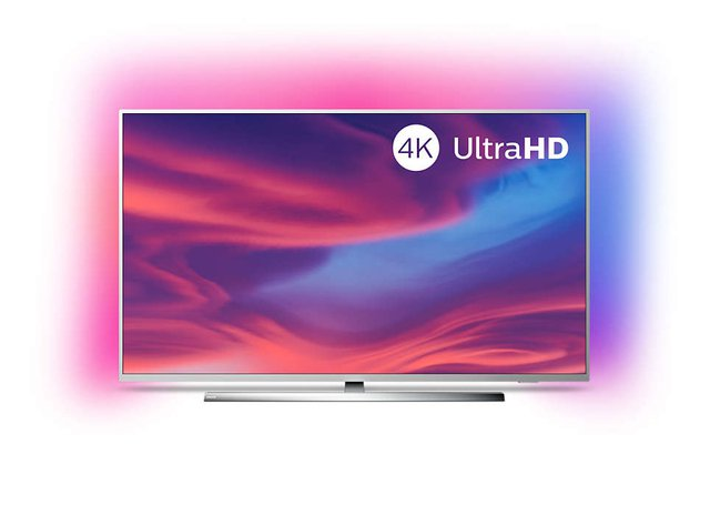 Ambilight 50PUS7354/12 Fernseher 126 cm (50 Zoll) Smart TV (4K UHD, P5 Engine, Dolby Vision, Dolby Atmos, Android TV, Google Assistant, Alexa