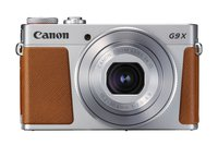 PowerShot G9 X Mark II Kompaktkamera (20,1 MP, 7,5cm (3 Zoll) Display, WLAN, NFC, 1080p, Full HD) silber