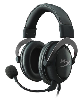 KHX-HSCP-GM Cloud II - Gaming Kopfhörer (für PS4/Mac-PC/Xbox One/Mobile) gun metal