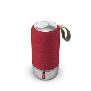 Multiroom Lautsprecher Zipp Mini Copenhagen Edition Raspberry Red AUX, USB, WLAN, Bluetoot