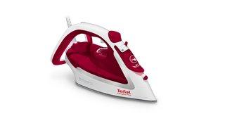 FV5717 Easygliss Plus Bügeleisen (2500 Watt, Dauerdampfmenge: 45 g/Min., Dampfstoß, Wassertank Kapazität: 270 ml) weiß/rot
