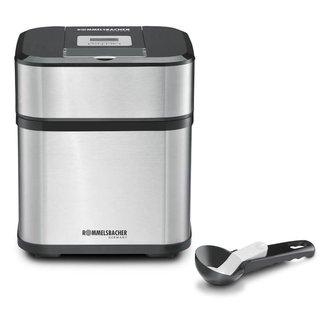 IM 12 Eismaschine 'Kurt' (4-in-1 für Speiseeis, Frozen Yogurt, Sorbet & Slush, Füllmenge 500 ml für 1,5 Liter Eis, LCD-Anzeige, inkl.