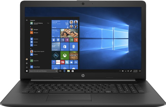 17-ca1008ng (17,3 Zoll / HD+) Laptop (AMD Ryzen 5 3500U, 8GB DDR4 RAM, 512GB SSD, AMD Radeon Vega Graphics, Windows 10 Home) schwarz