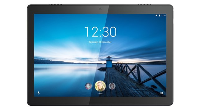 Tab M10 25,5 cm (10,1 Zoll, 1280x800, HD, WideView, Touch) Tablet-PC (Quad-Core, 2GB RAM, 16GB eMCP, Wi-Fi, Android 9) schwarz