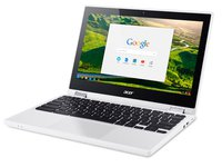 Chromebook R 11 (11,6 Zoll HD IPS Multi-Touch, 360° Convertible, Aluminium A-Cover, 19mm flach, extrem lange Akkulaufzeit, HDMI Google Chrome OS)