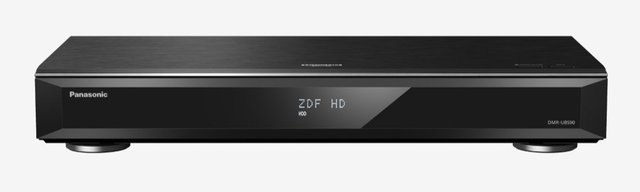 DMR-UBS90EGK (2000GB, Blu-Ray Player, UHD Player), Bluray + DVD Player, Schwarz