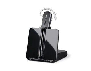 Telefon-Headset DECT schnurlos, Mono Plantronics CS540 In Ear, On Ear Schwarz Schwarz