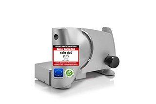 """Allesschneider""""Made in EU"""" MS-125001, Edelstahl Universal-Messereinheit in Deutschland produziert, einstellbar 0-15mm, BPA frei, Metallgehäuse,"""
