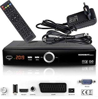 Echosat 20900 M Digital Satelliten Sat Receiver - (HDTV , DVB-S/S2 , HDMI , SCART, 2X USB 2.0, Full HD 1080p) [Vorprogrammiert für Astra