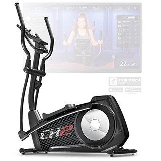 CX2 Crosstrainer für Zuhause | mit Stromgenerator | Deutsches Qualitätsunternehmen | Interaktive Video-Events & Multiplayer-App |