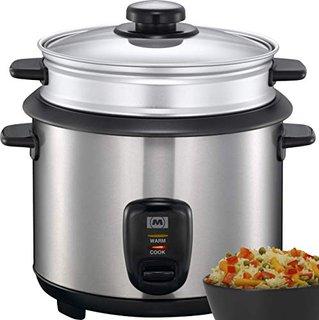 16280021 Reiskocher 1,50 Liter Reis Kochtopf Dampfgarer Multikocher 500 Watt