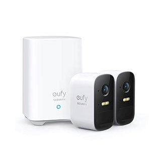 Security eufyCam 2C, kabelloses Sicherheitssystem, 180 Tage Akkuleistung, HD 1080p, IP67 wetterfest, Nachtsicht, Kompatibel mit HomeKit,