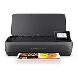 Officejet 250 mobiler Multifunktionsdrucker (Drucker Scanner, Kopierer, WLAN, HP ePrint, Wifi Direct, USB, 4800 x 1200 dpi) schwarz