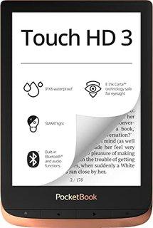 e-Book Reader 'Touch HD 3' (16 GB Speicher; 15,24 cm (6 Zoll) E-Ink Carta Display; SMARTlight; Wi-Fi; Bluetooth) in Kupfer
