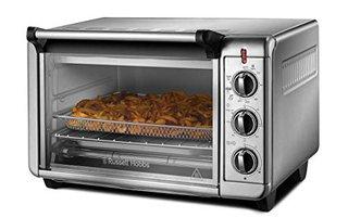 Minibackofen Express Airfry 5-in-1: Heißluftfritteuse, Backofen, Grill, Toaster, Warmhaltefunktion (22,8l, Pizza Ø 30cm,