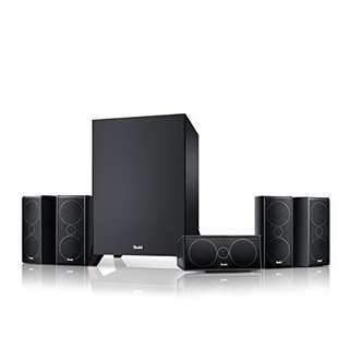 Consono 35 Mk3 5.1-Set Schwarz Heimkino Lautsprecher 5.1 Soundanlage Kino Raumklang Surround Subwoofer Movie High-End HiFi Speaker