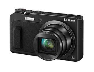 LUMIX DMC-TZ58EG-K Travellerzoom Kamera (16 Megapixel, 20x opt. Zoom, 3-Zoll LCD-Display, Full HD, WiFi, 24 mm Weitwinkel-Objektiv) schwarz