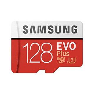 MB-MC128GA/EU EVO Plus 128 GB microSDXC UHS-I U3 Speicherkarte inkl. SD-Adapter Rot/Weiß