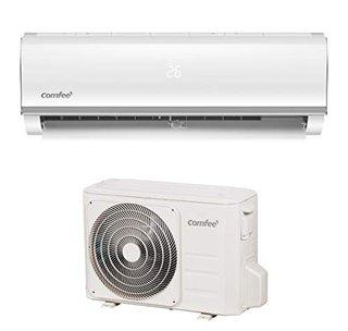 Split-Klimageräte MSAF5-12HRDN8-QE R32 SET, Leise Festinstallierte Split Klimaanlage für Räume bis ca. 103 m³(41 ㎡), 11000 BTU, 3,2 kW,
