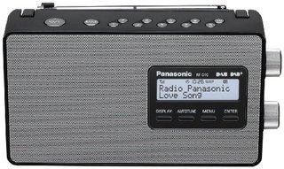 RF-D10EG-K Digitalradio (DAB+/UKW Tuner, Netz- und Batteriebetrieb) schwarz